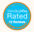 Wedding Wire 12 review badge