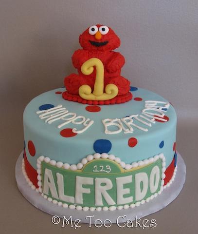 Elmo Sesame Street Birthday