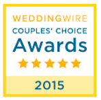 WeddingWire 2015Couples Choice Awards