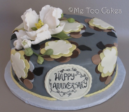 First Year Anniversary Cake Save It Or Devour It Me Too Cakes Amy Landini Kathuria